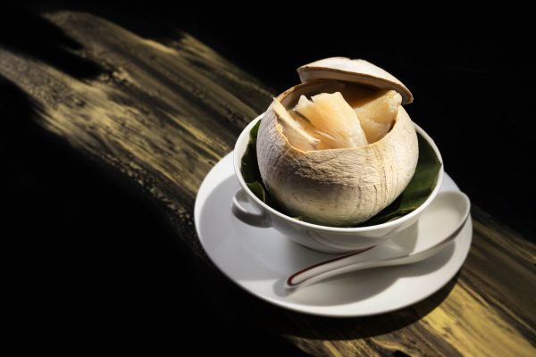 Tin-Lung-Heen-Double-Boiled-Chicken-Soup-with-Fish-Maw-in-Baby-Coconut