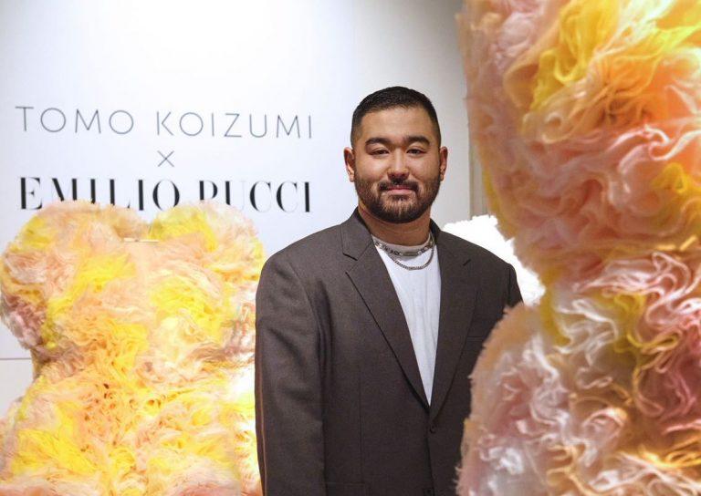 tomo koizumi pucci portrait